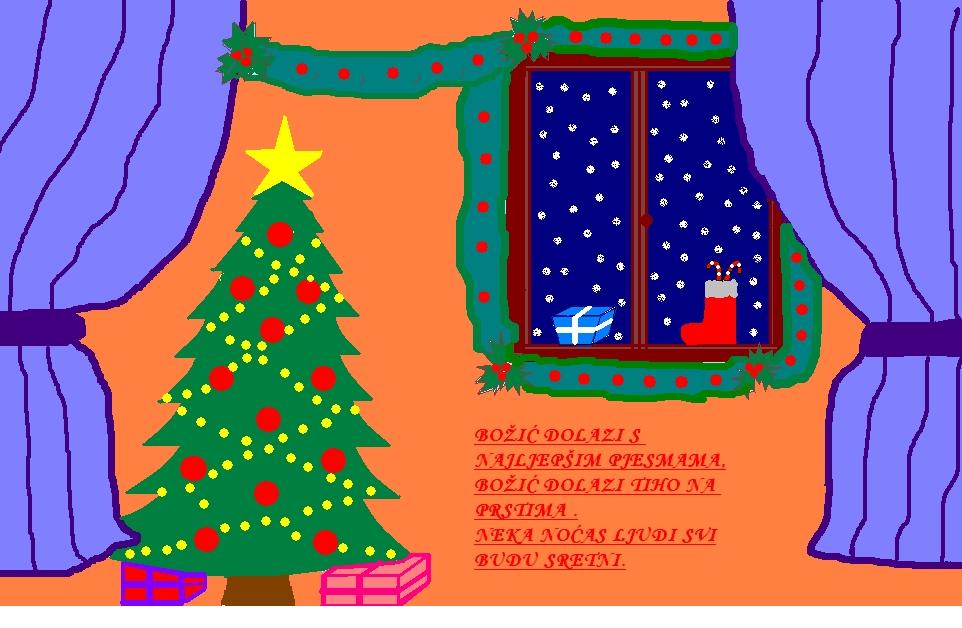 tekst božićna čestitka Portal za škole   Svi učenički radovi na portalu   Učeničke  tekst božićna čestitka