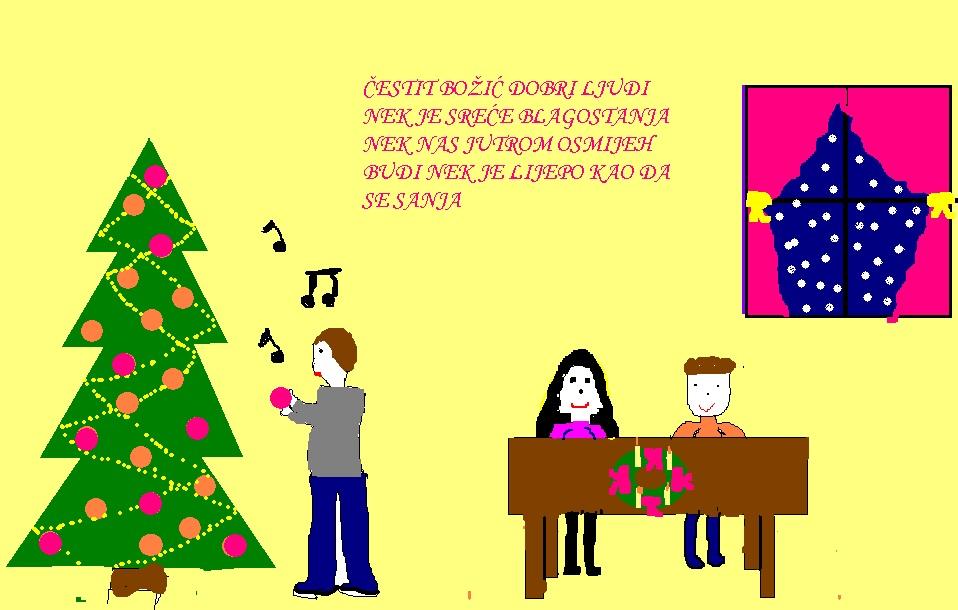 božić čestitke tekst Portal za škole   Svi učenički radovi na portalu   Učeničke  božić čestitke tekst