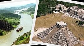 Panamski kanal i Chichen Itza