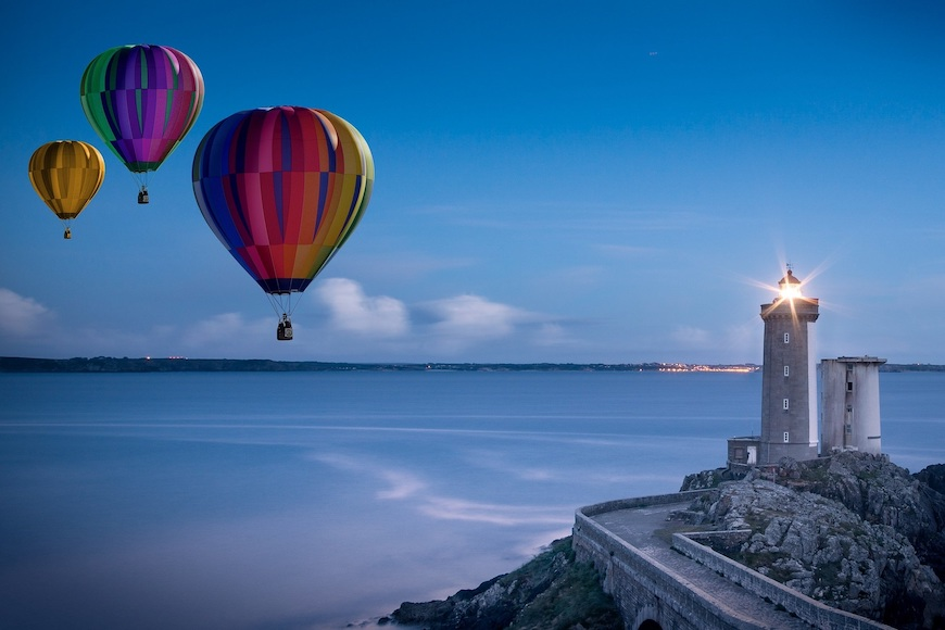 transportni balon