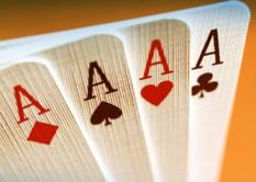 četiri asa na kartama