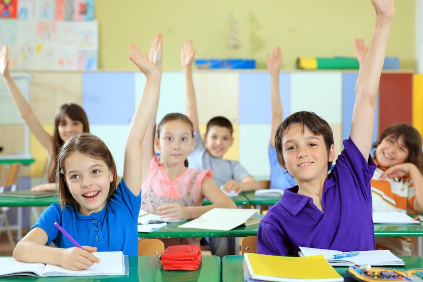 učenici se javljaju za odgovaranje