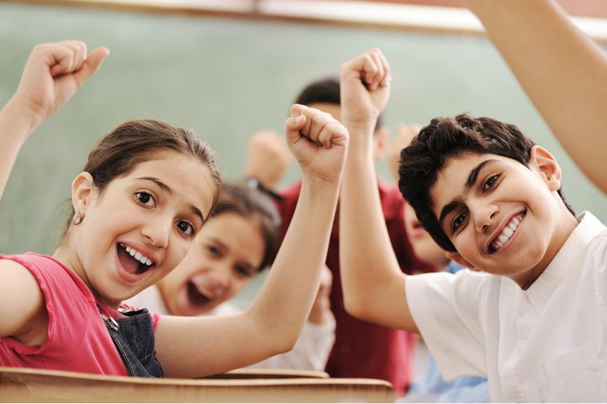 sretni učenci