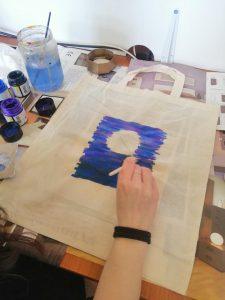 Radionica oslikavanja platnenih vrećica