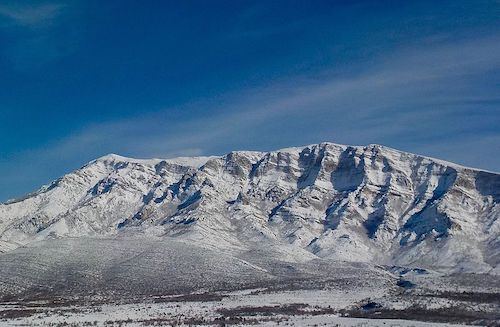 planina Dinara zimi
