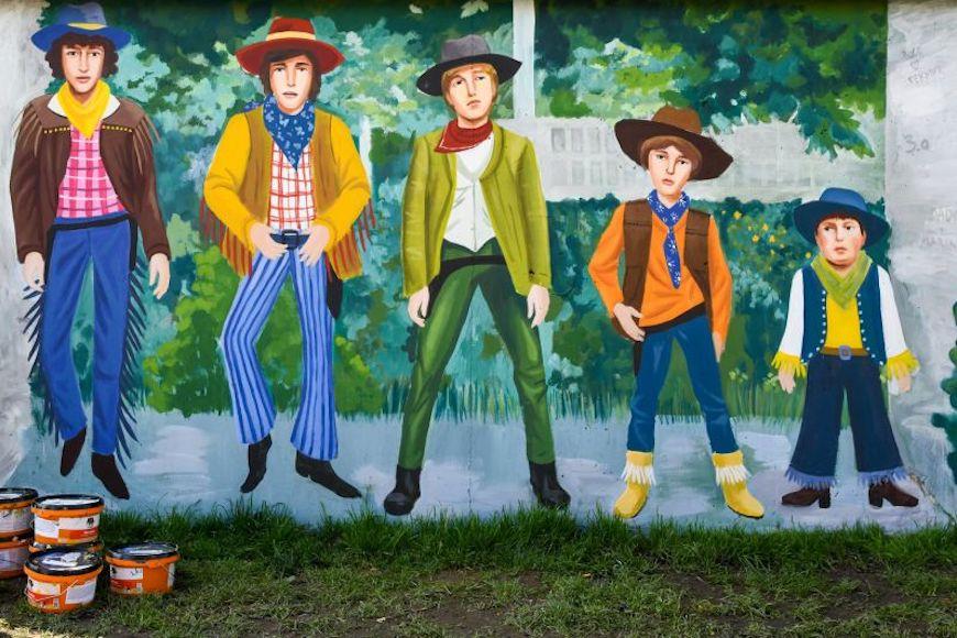 Smogovci dobili mural u Zagrebu