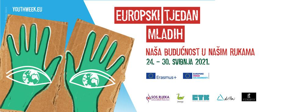 reklamni plakat Europskog tjedna mladih