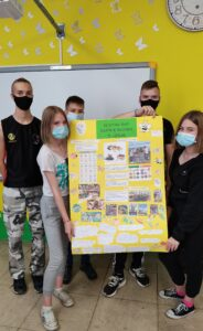 učeinici s plakatom