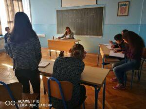 sudnica u razredu