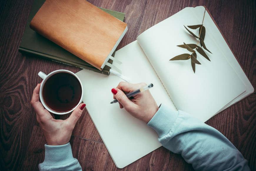 pisanje u bilježnicu
